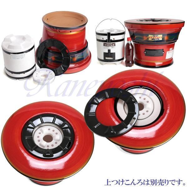 【送料無料】安心の日本製 心あたたまる レンタン火鉢 赤|docchan|08