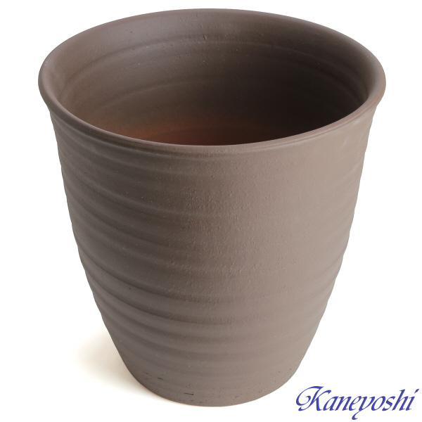 植木鉢 陶器 おしゃれ サイズ 30cm 安くて丈夫 PR ブラウン 10号|docchan|05