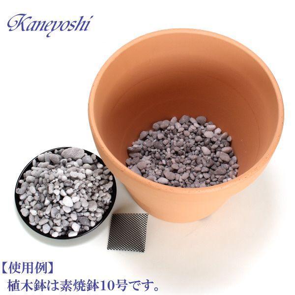 【お値打ち】 清潔 使い切り 鉢底の石 パーライト 200g 鉢底ネット入り|docchan|03