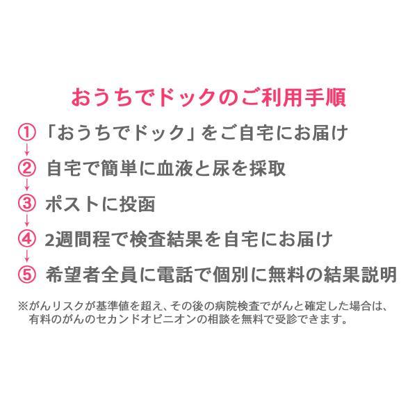 人間ドック 乳がん 糖尿病 動脈硬化 簡易検査キット 【おうちでドック 女性用】|doctorsmarche|05