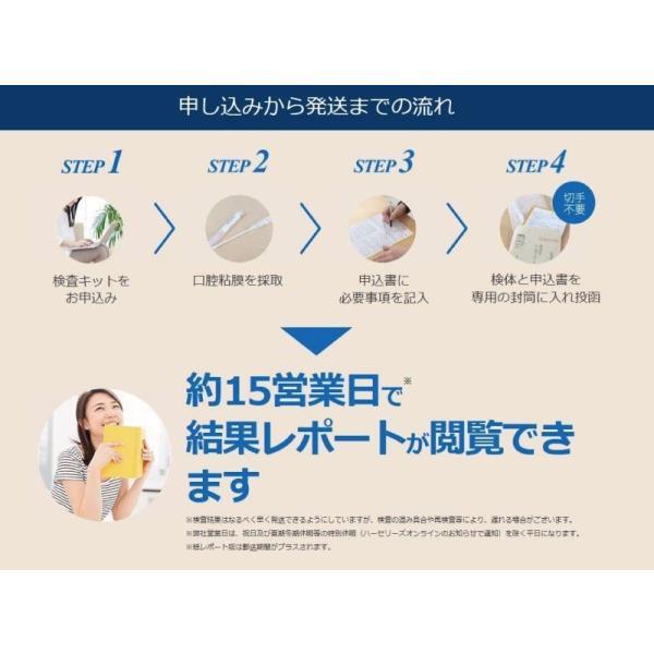 検査キット/自宅/郵送/体質/筋トレ/トレーニング/DNA EXERCISE遺伝子検査キット|doctorsmarche|05