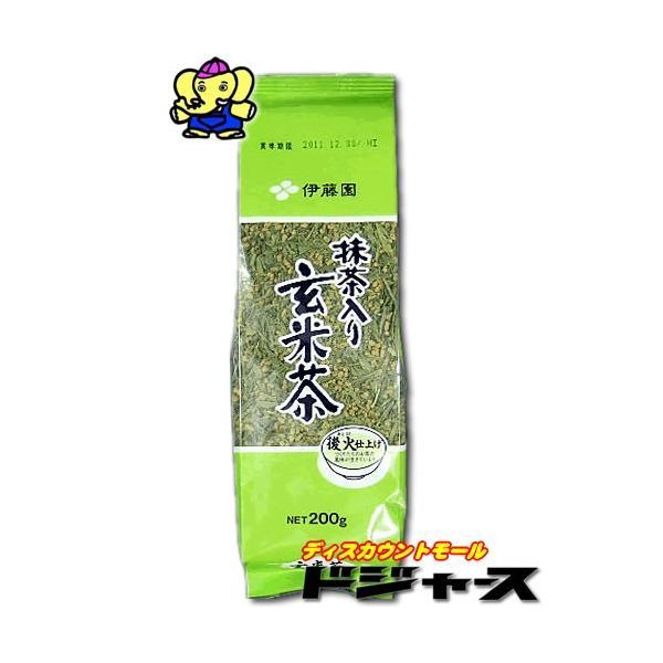 伊藤園 抹茶入玄米茶 200g