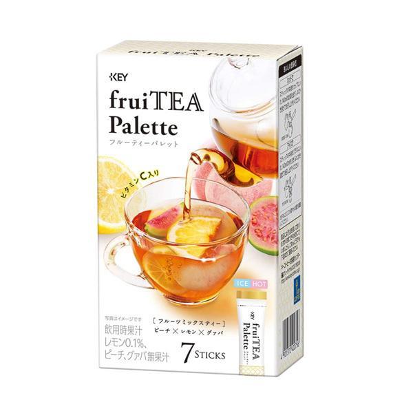 キーコーヒー フルーティーパレット フルーツミックスティー スティック7本入り 管理番号022012 紅茶