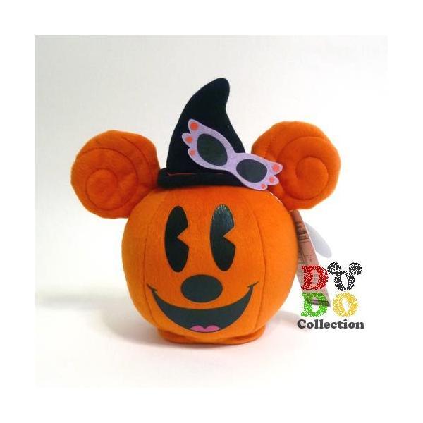かぼちゃミッキー ぬいぐるみ サウンド付き ディズニー ハロウィーン 2012年 東京ディズニーリゾート限定 グッズ お土産