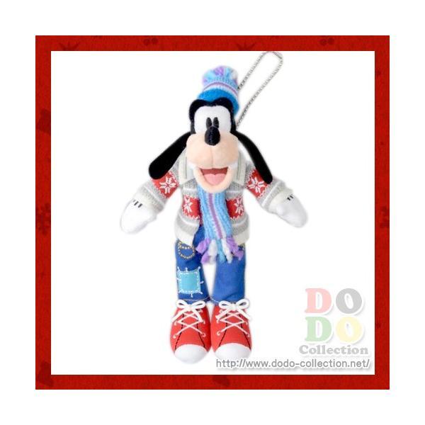 グーフィー ぬいぐるみバッジ クリスマス・ファンタジー 2016年 東京ディズニーランド限定 グッズ お土産