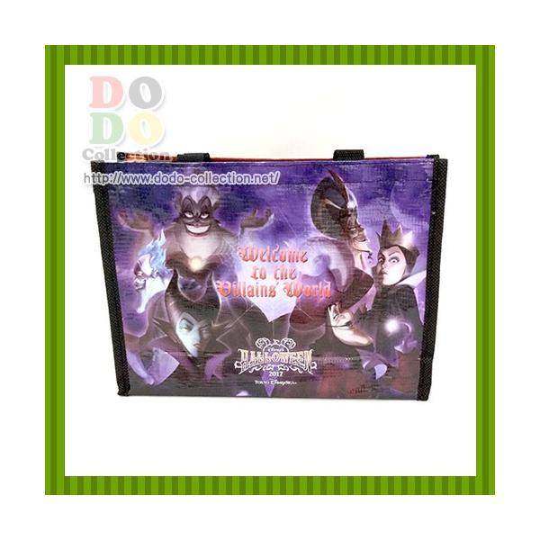 ディズニーハロウィーン2017 ミニショッピングバッグ ザ・ヴィランズ・ワールド ミュージックフェスティバル 東京ディズニーリゾート 限定