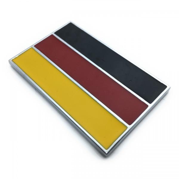 ドイツ 国旗 Germany ジャーマニ FRG メタル ステッカー エンブレム シール