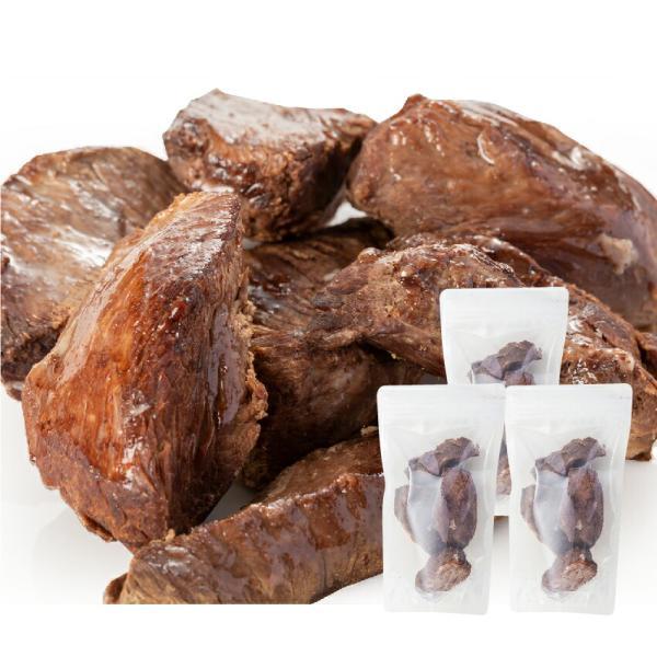 犬・手作りご飯(犬用 鹿肉 ステーキ 3袋)無添加 国産【冷凍】