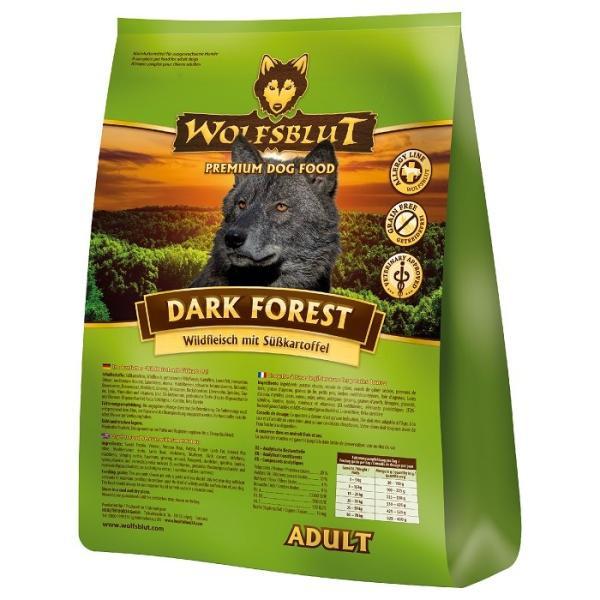 [ウルフブラット]ダークフォレスト(2kg)[鹿肉&ハーブ]全犬用 穀物不使用ドッグフード[正規品][お取り寄せ]