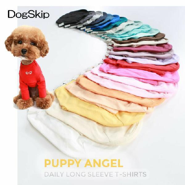 PAデイリーロングスリーブTシャツ 全25色 S,SM,M,ML,L,XLサイズ パピーエンジェル PUPPYANGEL 犬用