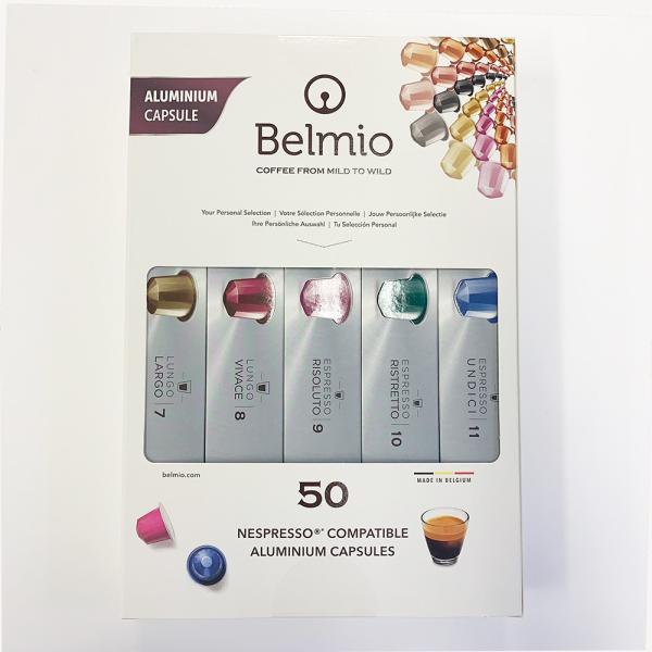 ネスプレッソ用互換カプセル ベルミオ5種類詰め合わせセット(合計50カプセル)カプセル コーヒー|dolcegusto|02