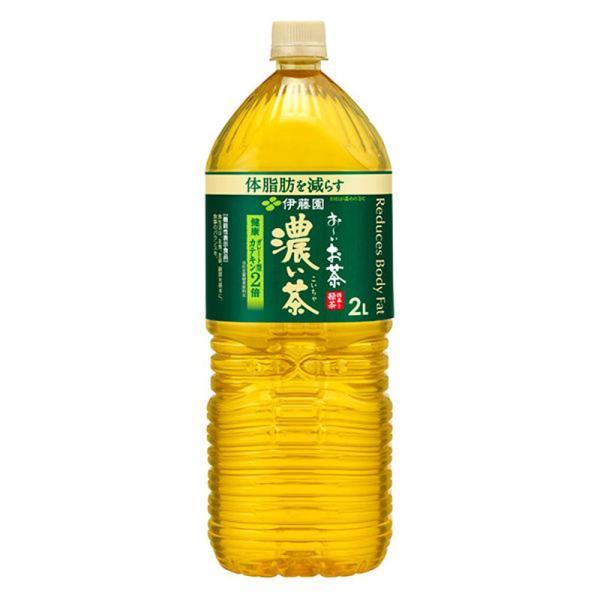 伊藤園 お〜いお茶 濃い茶 2000ml PET (1ケース/6本)(おーいお茶)