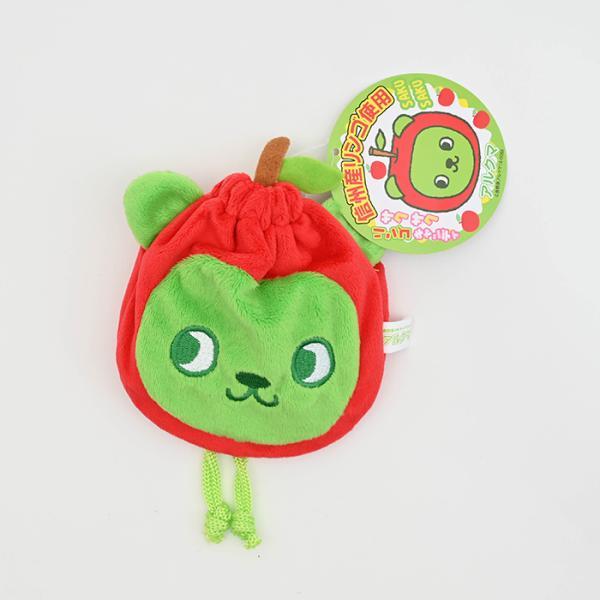 信州長野県のお土産 お菓子 信州長野県のご当地キャラ アルクマ巾着キャンディー