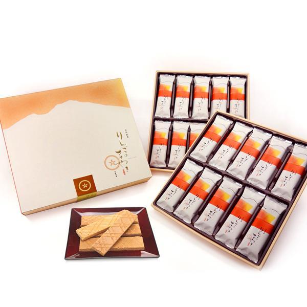 【送料無料】信州銘菓りんごのささやき40枚入贈答用×6個信州長野県のお土産林檎のお菓子