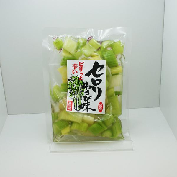 信州長野県のお土産 漬物 【クール配送】セロリわさび味