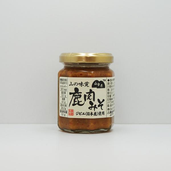 信州長野県のお土産 お取り寄せグルメ 山幸彦 鹿肉みそ125g
