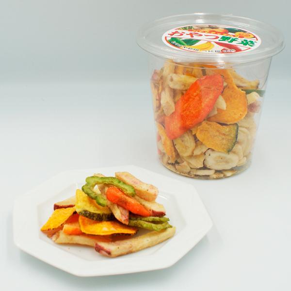 信州長野県のお土産 お菓子 おやつ野菜195g(野菜チップス・果物チップス)A
