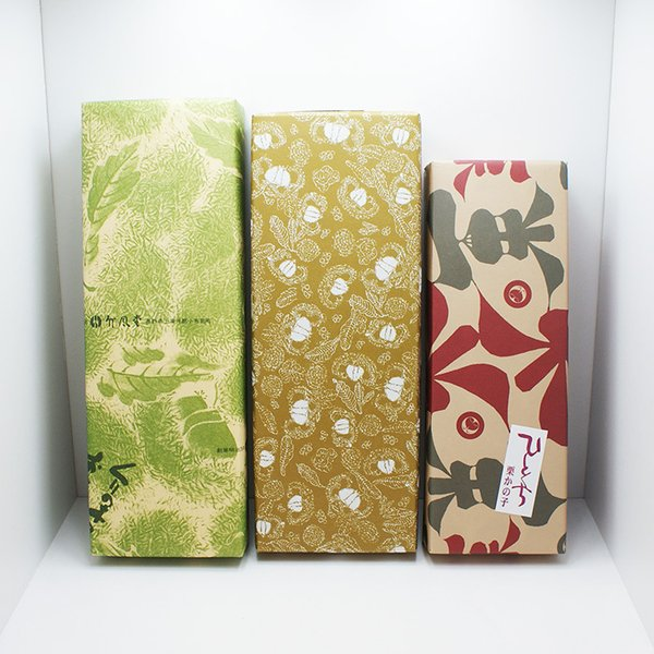 栗鹿の子 栗かの子 信州小布施のお土産 老舗栗菓子栗鹿の子食べくらべセット(送料込)