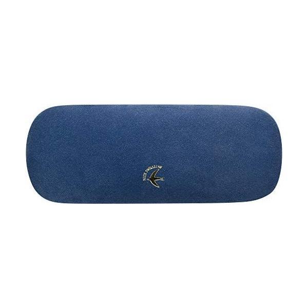現代百貨 BLUE SWALLOW メガネケース NAVY A418NV (母の日 プレゼント 入園祝い 入学祝い かわいい おしゃれ お返し)