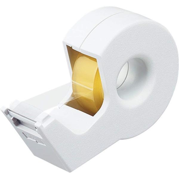 KOKUYO コクヨ テープカッター カルカット ハンディタイプ 小巻き 白 T-SM300W