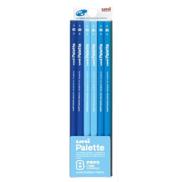 uni MITSUBISHI PENCIL ユニ 三菱鉛筆 かきかた鉛筆 ユニパレット B パステルブルー K5560B