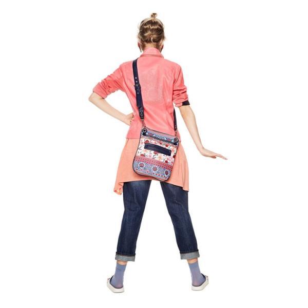デシグアル ショルダー バッグ 花柄 かばん 鞄 ポシェット レディース Desigual Aria