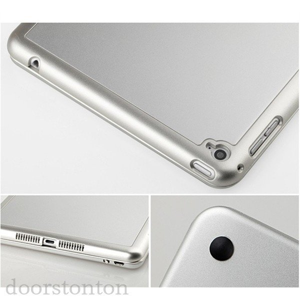 バックライト付き キーボードケース iPad Pro 10.5 iPad pro9.7 2017 pro9.7  キーボード iPad5 ipad6  耐衝撃 Bluetooth アルミ 光るキーボード|doorstonton|04