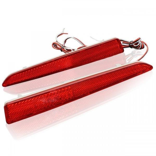タント カスタム LA600S LA610S パーツ LED リフレクター 反射板 車検対応 パーツ テールランプ バックフォグ デイライト doresuup 03