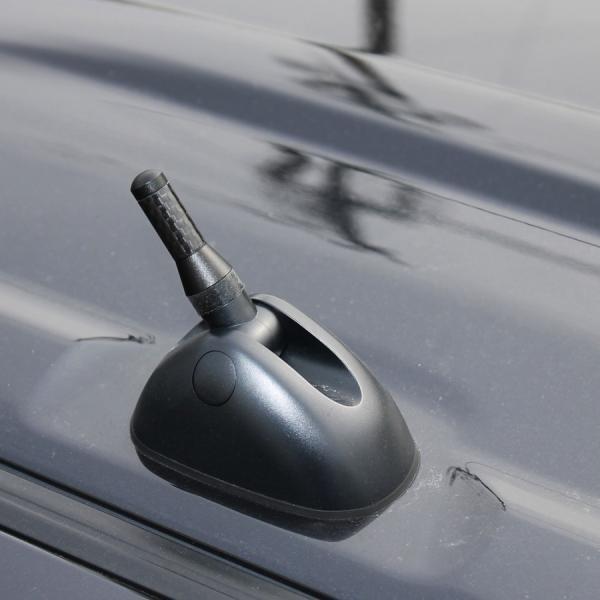 N-VAN N VAN NVAN ショートアンテナ カーボン調 メッキ カスタム パーツ 外装 ドレスアップ アクセサリー Nバン エヌバン|doresuup|07