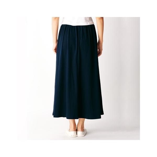 パジャマ・ルームウェア 大きいサイズ ゆったり マキシスカート LL 3L 2枚組 ロングスカート ニッセン|dorismieux-bynissen|07