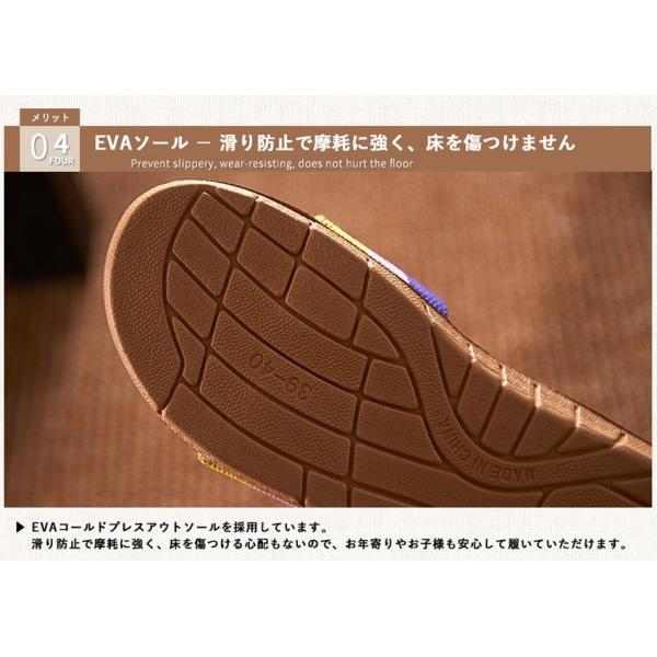 サンダル スリッパ レディース メンズ 男女兼用 おしゃれ 歩きやすい 履きやすい 疲れない 疲れにくい 安い 室内履き 滑り止め EVA 送料無料 得トクセール|dosanko-samurai|15