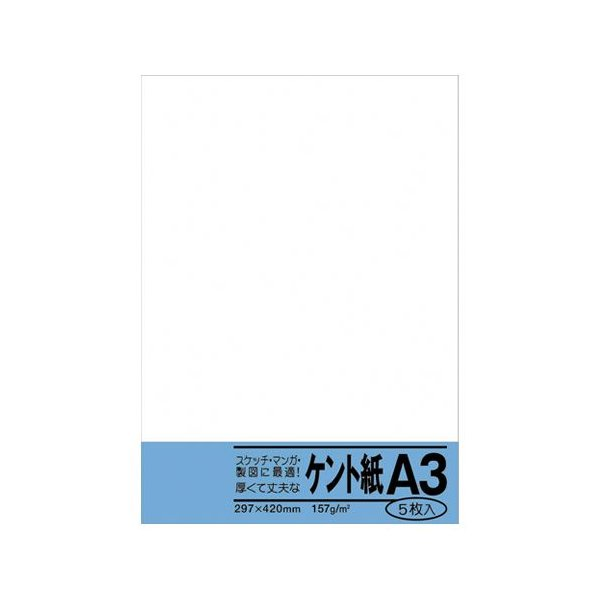 菅公工業 ケント紙 規格:A3判