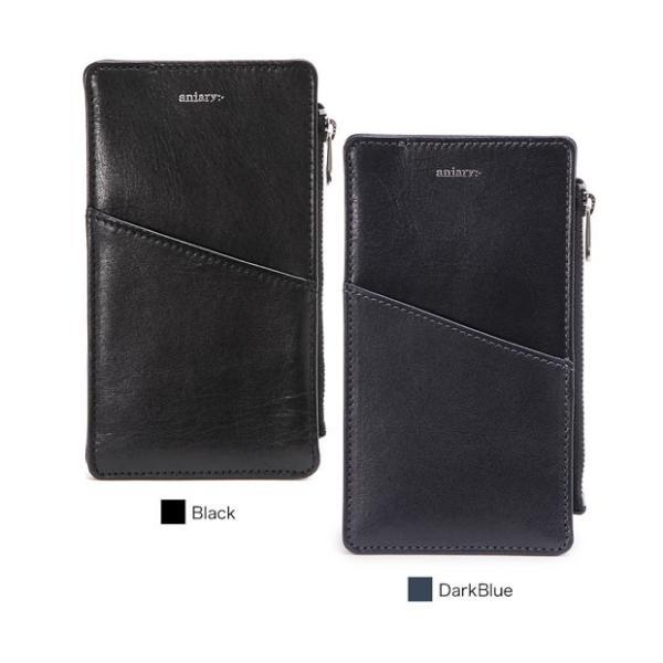 選べるノベルティアニアリ財布マルチケースSコンパクトウォレットスマホケースiPhone(6/7/8/X対応)AntiqueLea