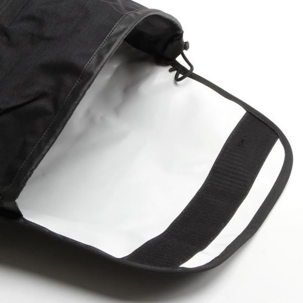 バッグジャック メッセンジャーバッグ ショルダーバッグ ブラッククラシック bagjack Pogo messenger double-edge 05