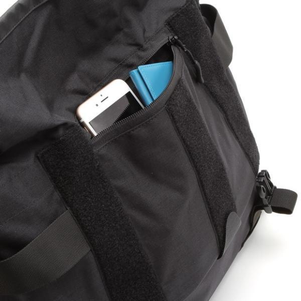 バッグジャック メッセンジャーバッグ ショルダーバッグ ブラッククラシック bagjack Pogo messenger double-edge 06
