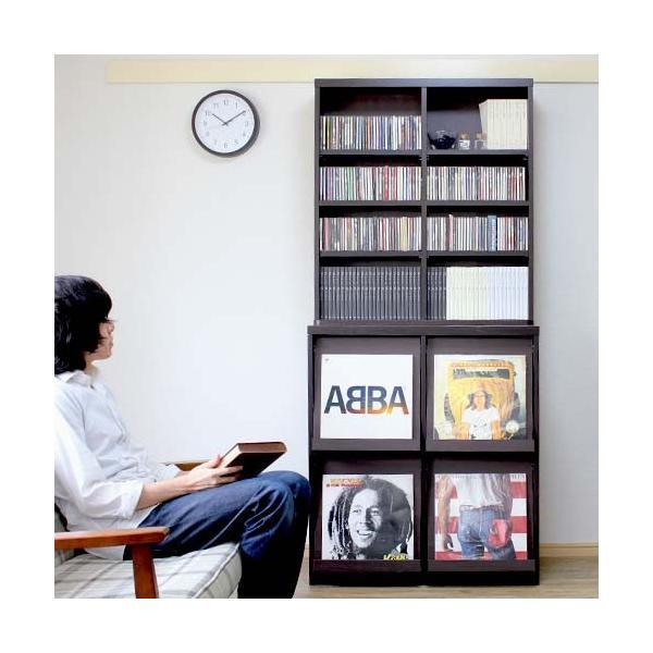 レコードラック レコード収納  レコード ラック LP 収納 収納棚 ディスプレイラック 収納ラック|double-oo