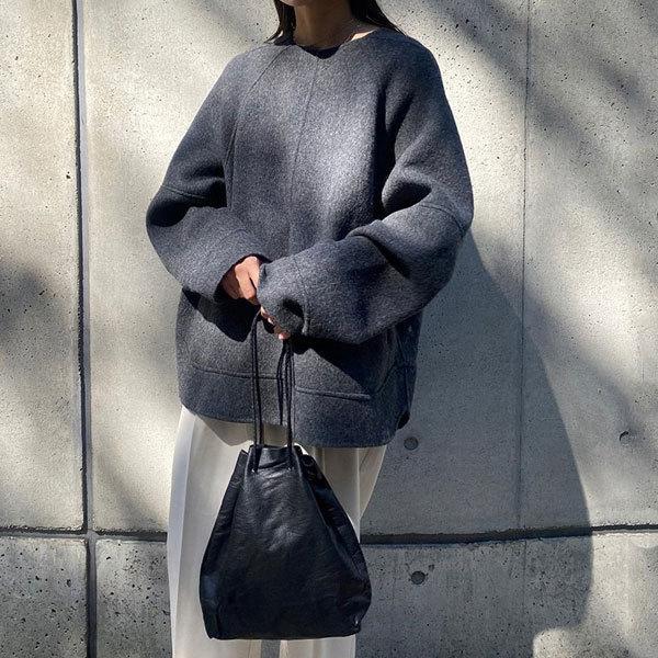 TODAYFUL トゥデイフル 7月上旬予約 Soft Leather Purse ソフトレザーパース レディース バッグ ハンドバッグ レザー 巾着バッグ ミニバッグ 肩掛け 本革