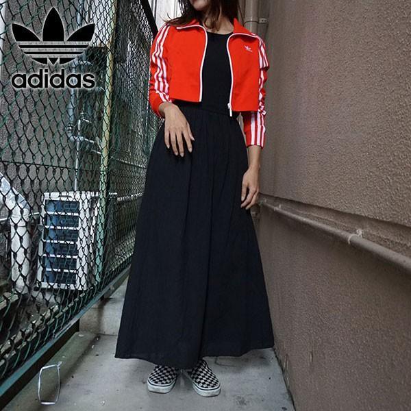 アディダスオリジナルス adidas originals 通販 TRACK TOP トラックトップ レディース ジャケット カジュアル スポーツ スポーティー ショート丈 アディダス|doubleheart
