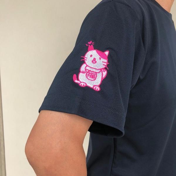 招き猫Tシャツ|doubutu-kikin|03