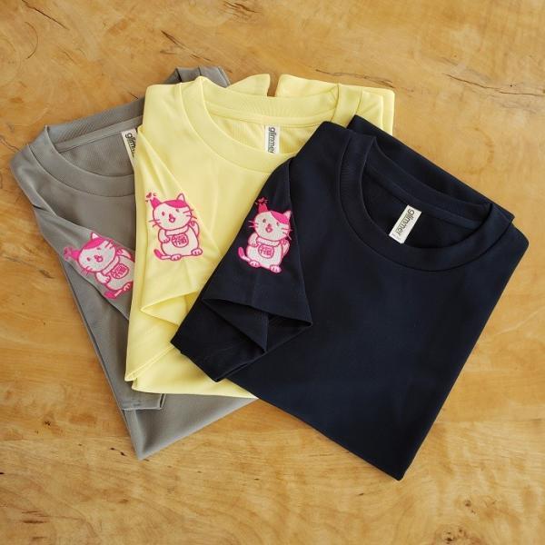招き猫Tシャツ|doubutu-kikin|04