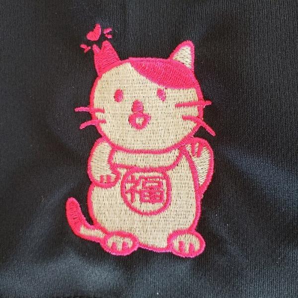 招き猫Tシャツ|doubutu-kikin|05