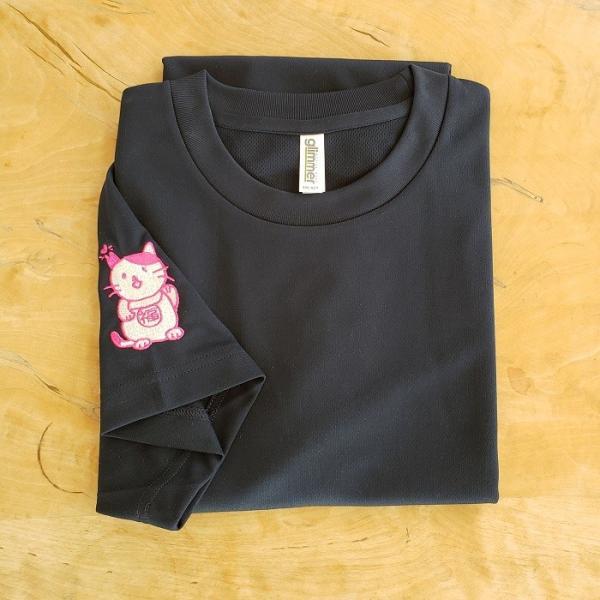 招き猫Tシャツ|doubutu-kikin|06