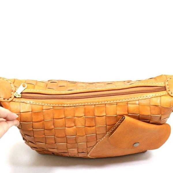 0cdd83c39965 zucchero filato (ズッケロフィラート) カウレザーメッシュポケットアレンジショルダーバッグ 本革