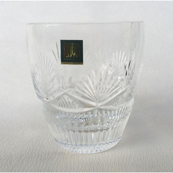 マイオンザロック 1客 オールドファッション Gカット HOYAクリスタル クリスタル ガラス グラス