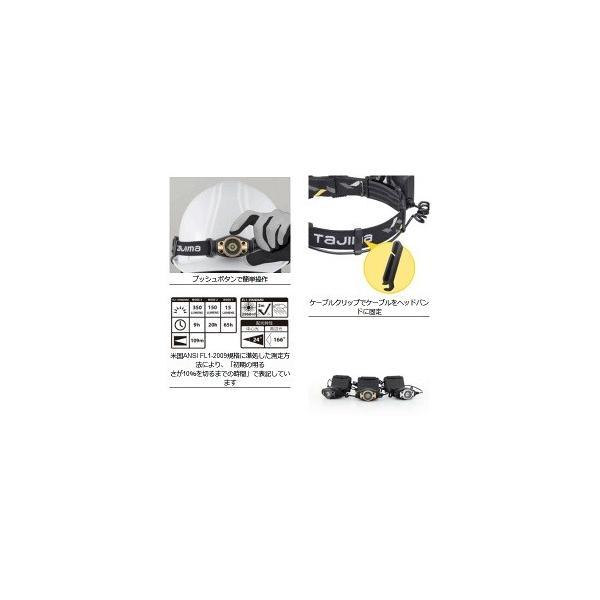 【在庫有り】タジマ LEDヘッドライト F351D ゴールド(G)/シルバー(S)/ガンメタ(GA) [LE-F351D-G/LE-F351D-S/LE-F351D-GA]