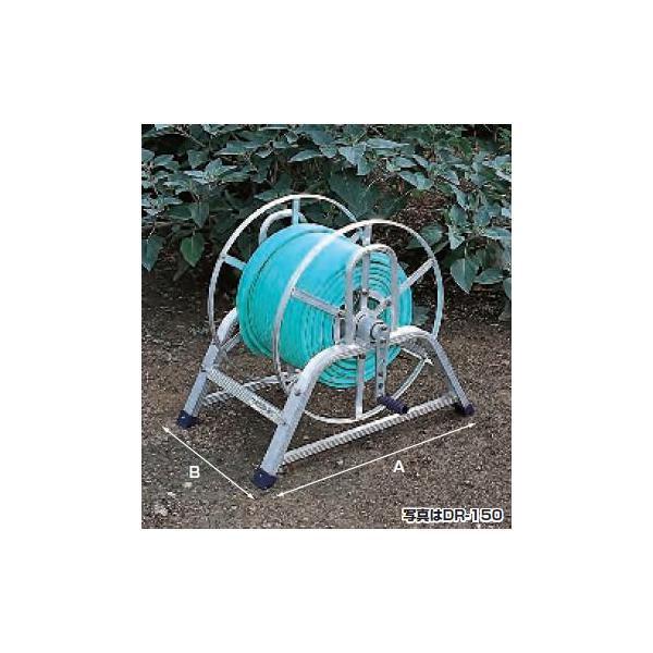 【直送品】 ハラックス マキ太郎 アルミ製 ホース巻取器 DR-50 φ8.5動噴ホース用
