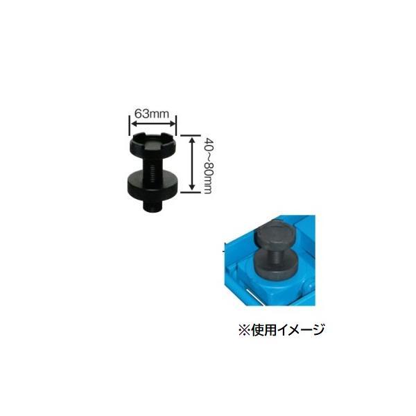 【直送品】 長崎ジャッキ ねじ調整付き受け皿 NL-NS (オプション)