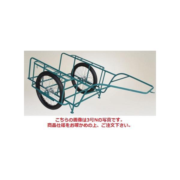 【ポイント10倍】 【直送品】 ハラックス スチールリヤカー スチール製リヤカー SSR-5N ノーパンクタイヤ(26X2-1/2N) 【大型】