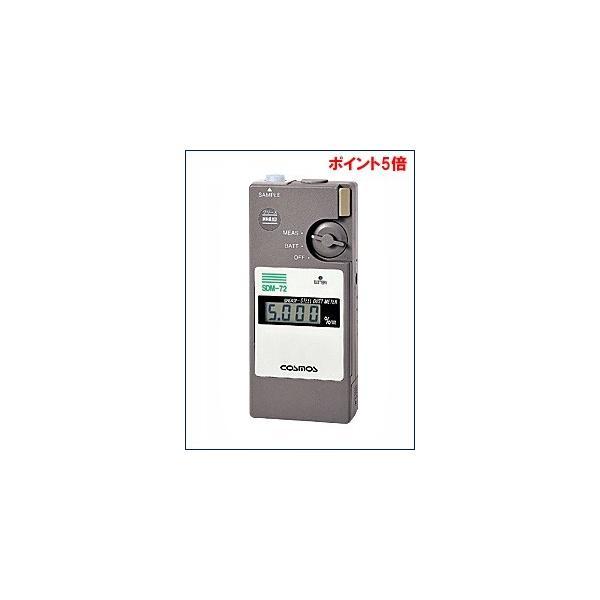 【ポイント5倍】 新コスモス電機 (COSMOS) ポータブル型 グリース鉄粉濃度計 SDM-72