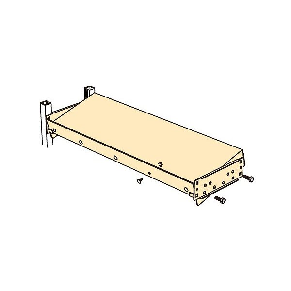 【P5倍】 【直送品】 サカエ 中軽量ラックRL型・RLW型用 オプション傾斜棚板セット MS1260KT (187958) 【個人宅不可】 【大型】